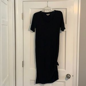 Madewell midi t-shirt dress size S